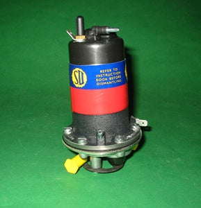 MIDGET + MINI FUEL PUMP SU POSITIVE ELECTRONIC - INCLUDES DELIVERY