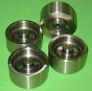 SET OF 4 - CALIPER PISTON MGA STAINLESS STEEL as original design - INCLUDES DELIVERY