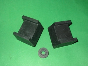 3 PIECE SET - GEARBOX MOUNT MG TD TF YA YB - INCLUDES DELIVERY