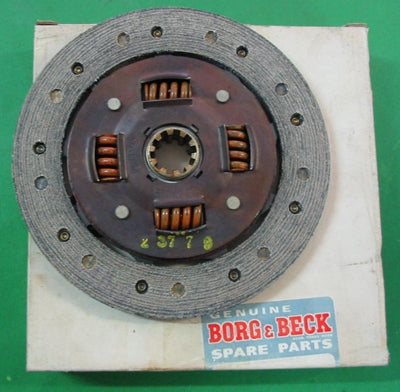 "CLUTCH DRIVEN PLATE TC TD Y 7.25"" BORG & BECK - INCLUDES DELIVERY"