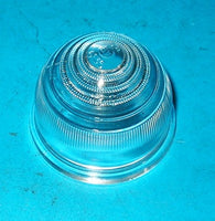 CLEAR GLASS FLASHER LAMP LENS FRONT AUSTIN HEALEY SPRITE MKI MINI - INCLUDES DELIVERY