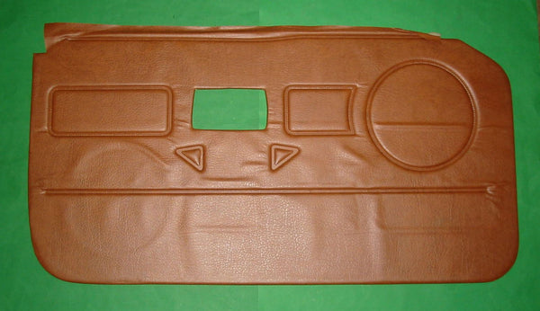 PAIR - DOOR LINER MGB RUBBER NOSE 1976 >AUTUMN LEAF - INCLUDES DELIVERY
