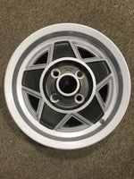 MGB ROAD WHEEL LE ALLOY 5Jx14 (UK STYLE) - INCLUDES DELIVERY TO MAINLAND EAST COAST METRO. See description.