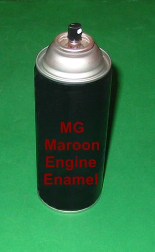 ENGINE ENAMEL PAINT MAROON MGA MGB PRESSURE PACK 300GM - INCLUDES DELIVERY