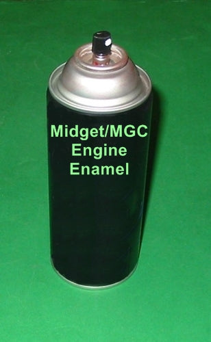 ENGINE ENAMEL PAINT GREEN HAMMERTONE MIDGET MGC PRESSURE PACK - INCLUDES DELIVERY