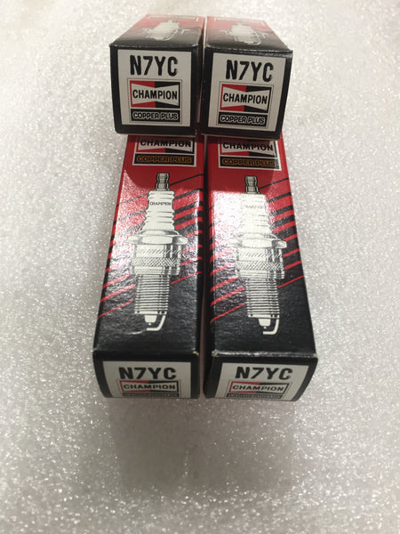 SET OF 4 - SPARK PLUG CHAMPION N7YC MG - INCLUDES DELIVERY