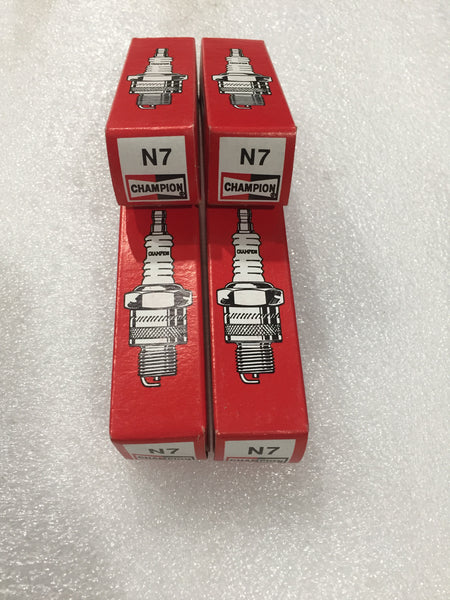 SET OF 4 - MG SPARK PLUG CHAMPION N7 - INCLUDES DELIVERY