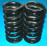 PAIR - COIL SPRING MGB LOW UPRATED PREMIUM QUALITY 500lb nominal - INCLUDES DELIVERY