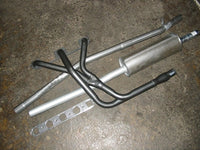 EXTRACTOR MGB + INTER PIPE + MUFFLER + PREMIUM QUALITY GASKET KIT - INCLUDES DELIVERY TO MAINLAND EAST COAST METRO. See description.