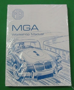 WORKSHOP MANUAL MGA AUST ORIGINAL - INCLUDES DELIVERY
