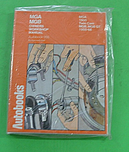 WORKSHOP MANUAL AUTOBOOK MGA MGB 1955>68 - INCLUDES DELIVERY