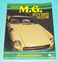 MG BUYERS GUIDE BOOK BY RICHARD KNUDSON - INCLUDES DELIVERY