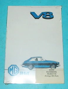 MGB GT V8 HANDBOOK - INCLUDES DELIVERY