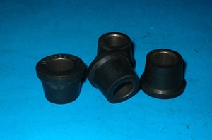 SET OF 4 - LOWER INNER BUSH & OUTER MG ZA ZB BIG HEALEY - INCLUDES DELIVERY