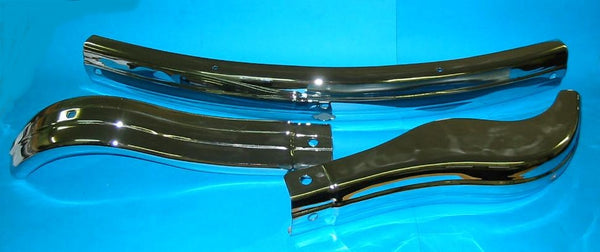 MGA FRONT CHROME BUMPER BAR 3 PIECE AFTERMARKET - DELIVERY EXTRA