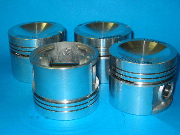 MGB PISTON SET 5 BEARING LOW COMP 040 P/FIT +R - INCLUDES DELIVERY