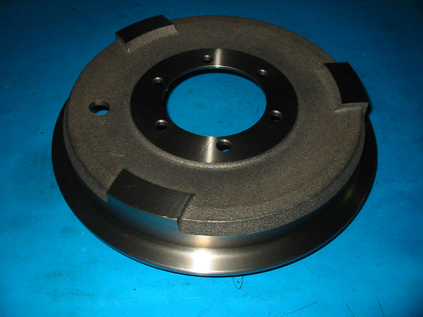 PAIR - BRAKE DRUMS TD TF TO SUIT WIRE WHEEL CARS - INCLUDES DELIVERY