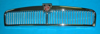 MGB CHROME GRILLE ASSEMBLY  1963>1970 - INCLUDES DELIVERY TO MAINLAND EAST COAST METRO. See description.
