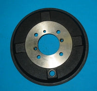 PAIR - BRAKE DRUM MGA REAR SOLID FRONT WHEEL - INCLUDES DELIVERY