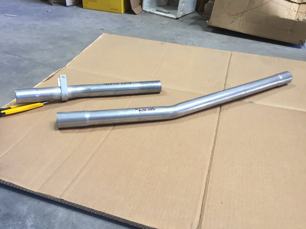 INTER PIPE MGB EXTRACTOR > REAR MUFFLER 2 PCE - INCLUDES DELIVERY