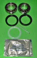 2x KITS - MINI FRONT WHEEL BEARING KIT DRUM BRAKE 14 PIECES - INCLUDES DELIVERY