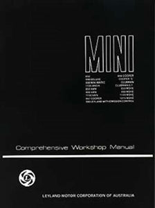 WORKSHOP MANUAL MINI ALL MODELS COMPREHENSIVE AUSTRALIAN EDITION - INCLUDES DELIVERY