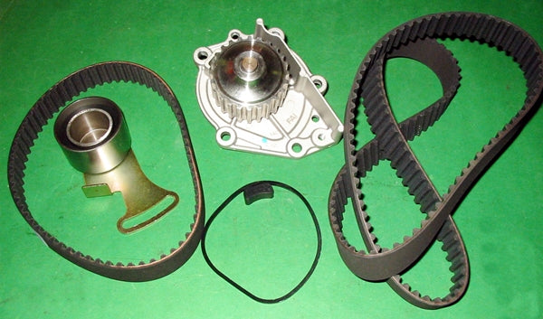 MG MGF WATER PUMP TIMING BELTS & MANUAL TENSIONER VVC - INCLUDES DELIVERY
