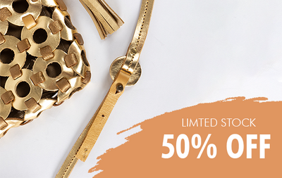 50% OFF LIMITED STOCK