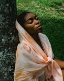 100% SILK MAHINA SCARF- GOLDEN HOUR
