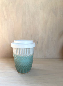 Sea Mist Texture Travel Mug