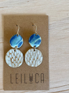 Ocean Texture Small Dangle