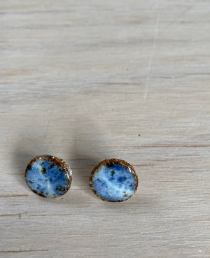 Stormy Speckled Studs