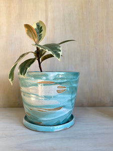 Sea Mist large planter