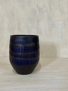 Textured Blue Multipurpose cup2 - seconds