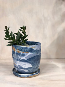 Stormy Small Planter