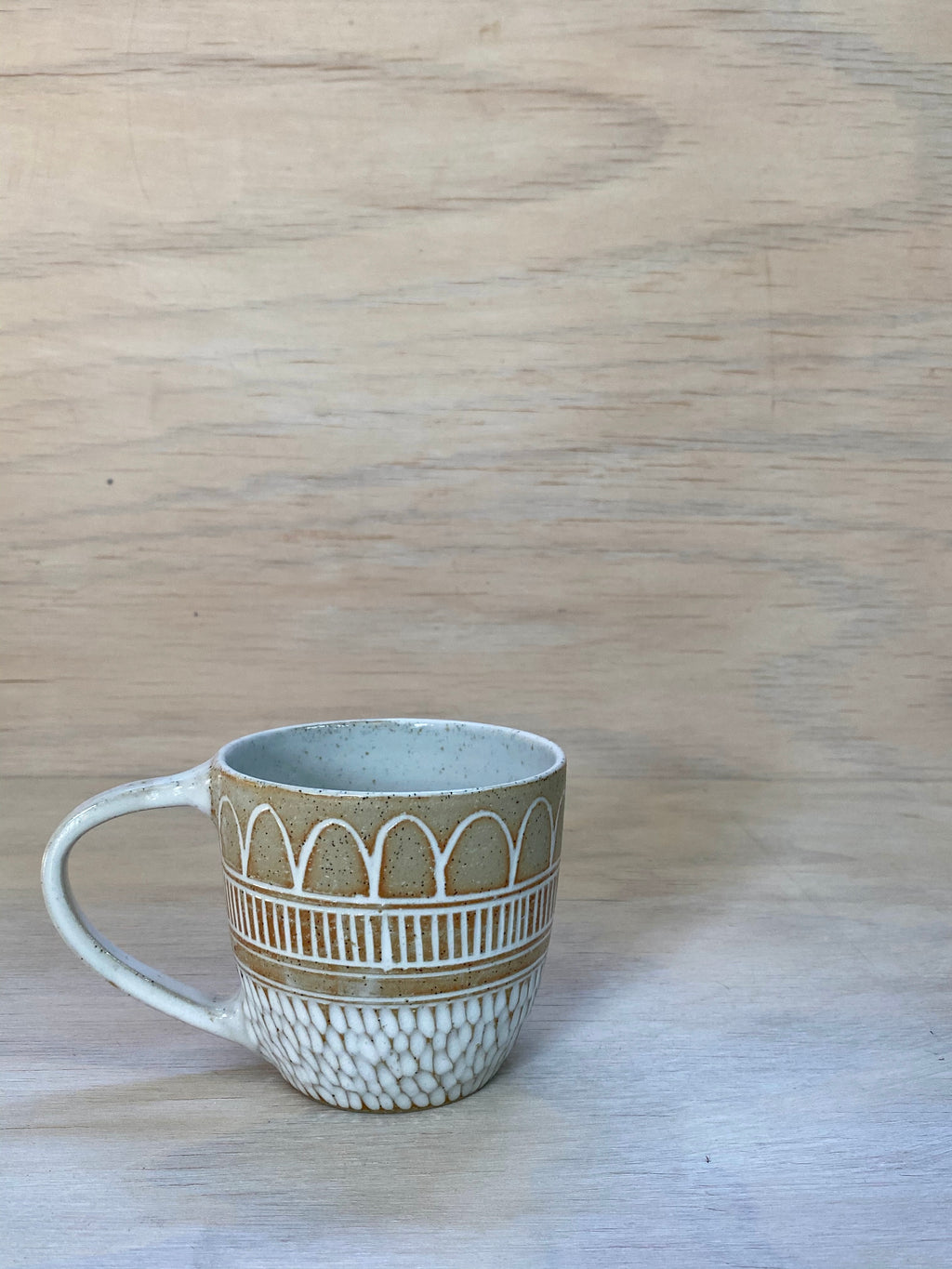 Boho Rain Raw Mug - Second