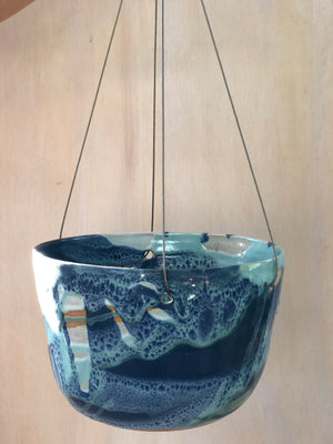Ocean Medium Hanging Planter