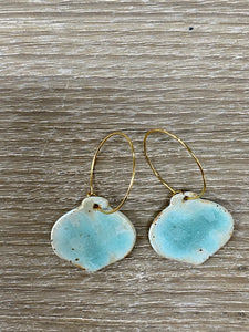 Sea Mist Bauble earrings - Christmas Collection