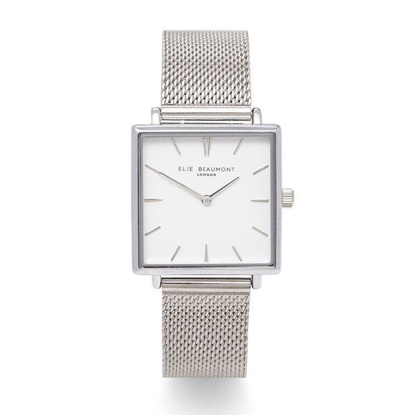 BAYSWATER MESH  SILVER - Elie Beaumont Watch
