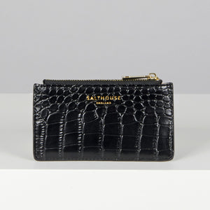 Theadora Card Holder Noir - Salthouse England