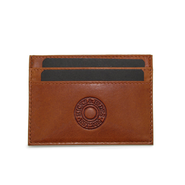 Cognac Card Holder - Hicks & Hide