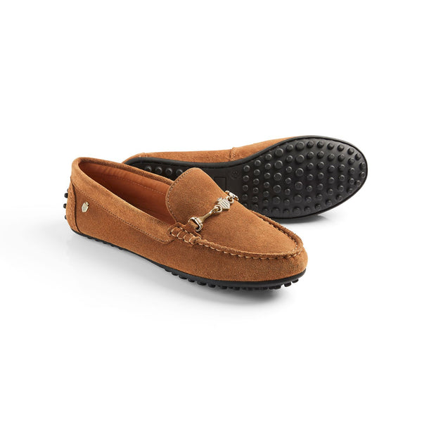 TRINITY LOAFER TAN - Fairfax & Favor