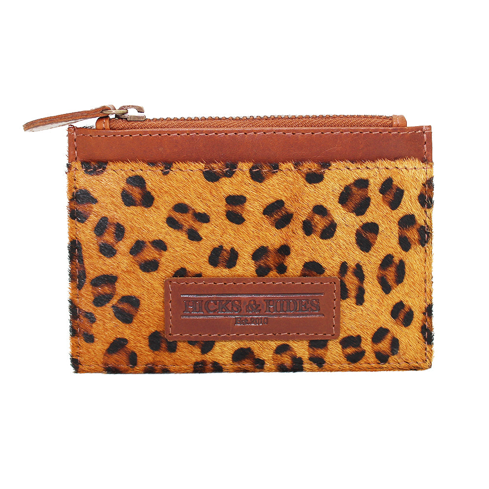 Leopard Coin Purse - Hicks & Hides