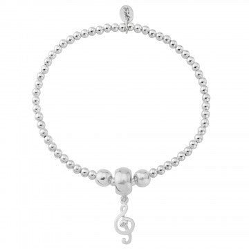 Treble Cleft - Sterling Silver Bracelet