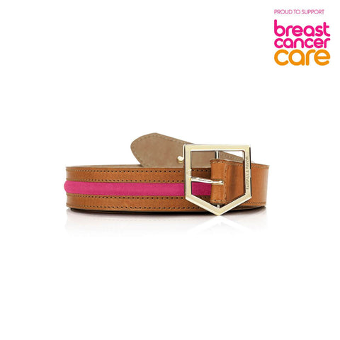 FAIRFAX & FAVOR Hampton Belt – LIMITED EDITION Supporting Breast Cancer Care
