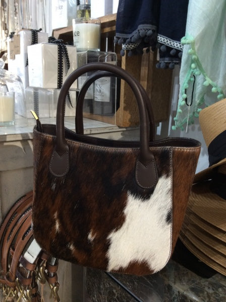 Cow Hide Mini Newbury Handbag