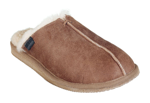 Mens 100% Sheepskin Mule Slippers - Shepherds of Sweden