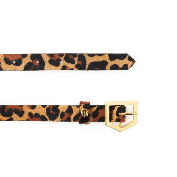 THE SENNOWE JAGUAR HAIRCALF BELT - Fairfax & Favor