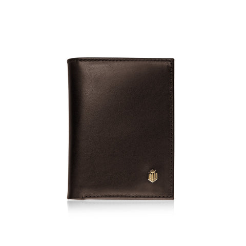 THE WALPOLE BROWN LEATHER WALLET - Fairfax & Favor
