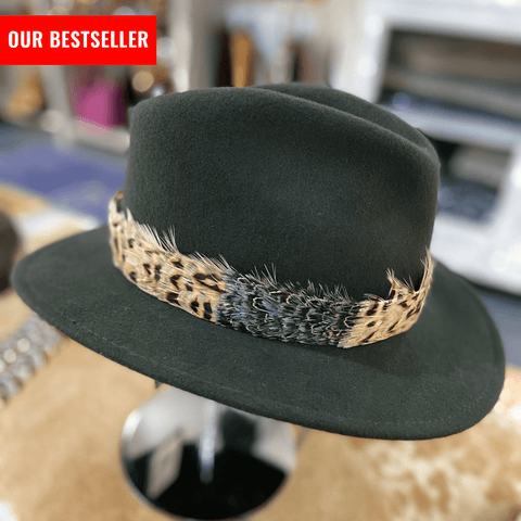 Feather Hat Band - Detachable